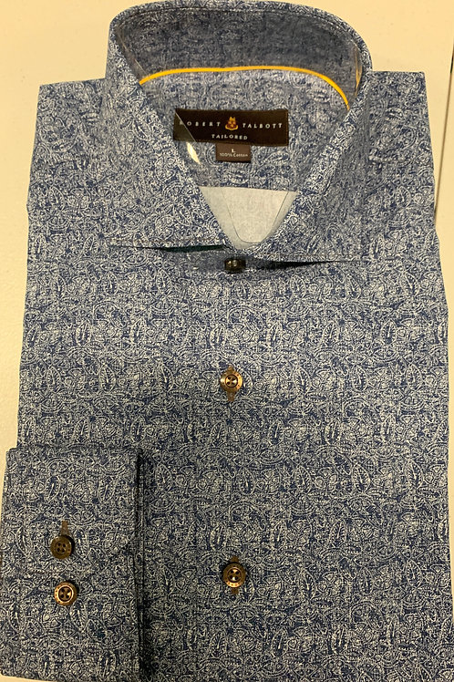 Robert Talbott- Patterned Sport Shirt