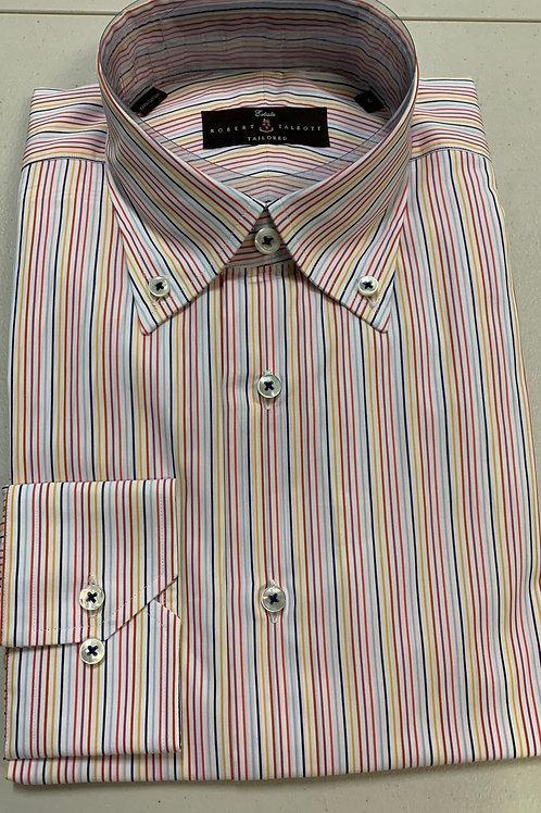 Robert Talbott- Vertical Lined Sport Shirt