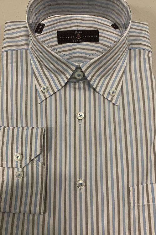 Robert Talbott- Vertical Stripe Sport Shirt
