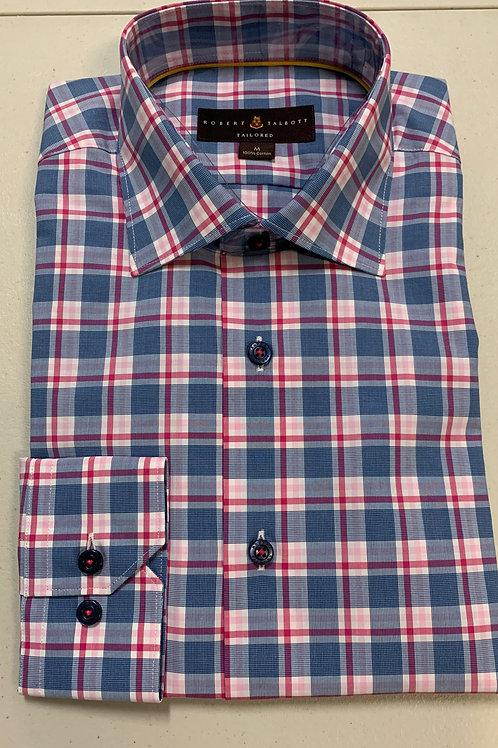 Robert Talbott- Plaid Sport Shirt