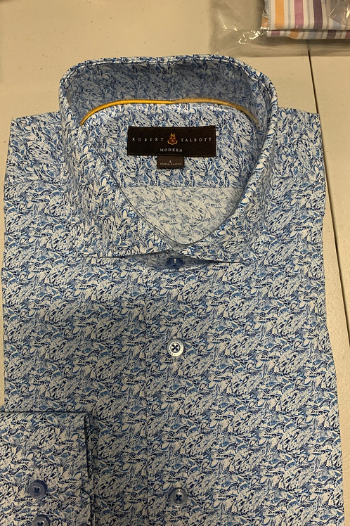 Robert Talbott- Patterned Sport Shirt