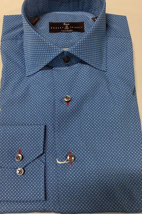 Robert Talbott- Small Print Sport Shirt