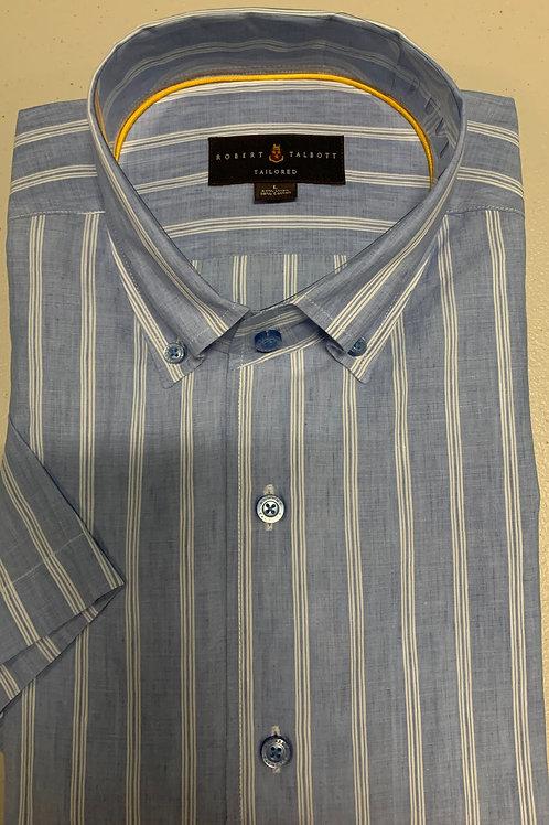 Robert Talbott- Striped Sport Shirt