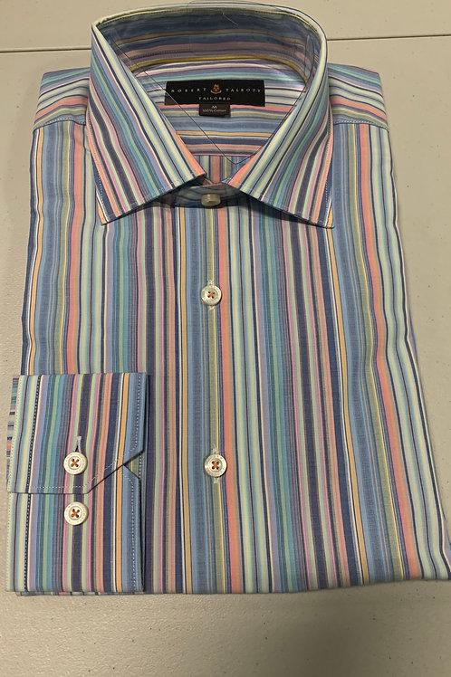 Robert Talbott-Vertical Line Sport Shirt
