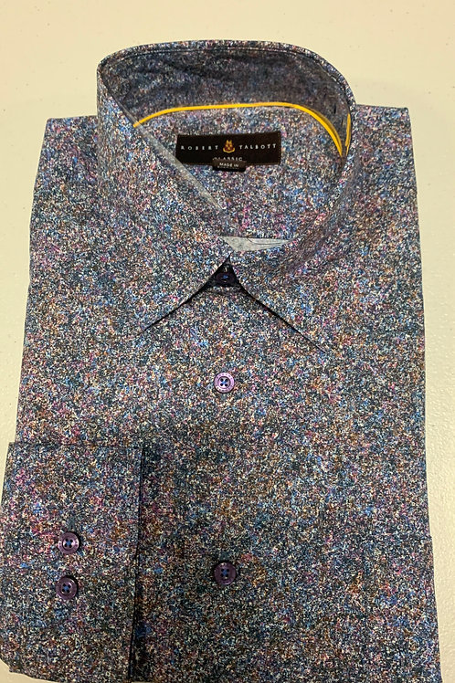 Robert Talbott- Multicolored Speckled Sport Shirt