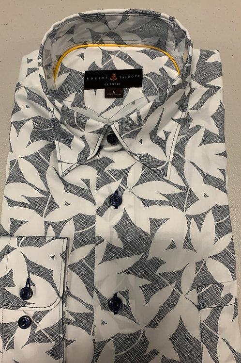 Robert Talbott- Floral Patterned Sport Shirt