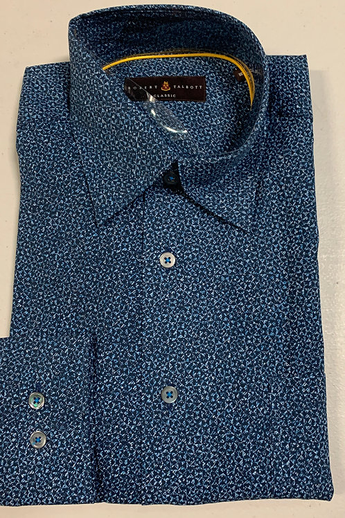 Robert Talbott- Small Print Sport Shirt