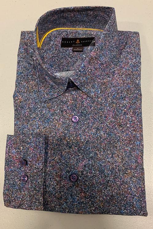 Robert Talbott- Multicolored Speckled Sport Shirt