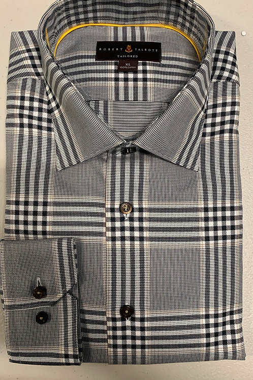 sRobert Talbott- Plaid Sport Shirt