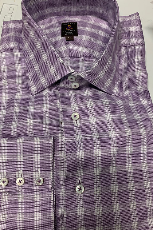 Robert Talbott- Checked Trim Fit Sport Shirt