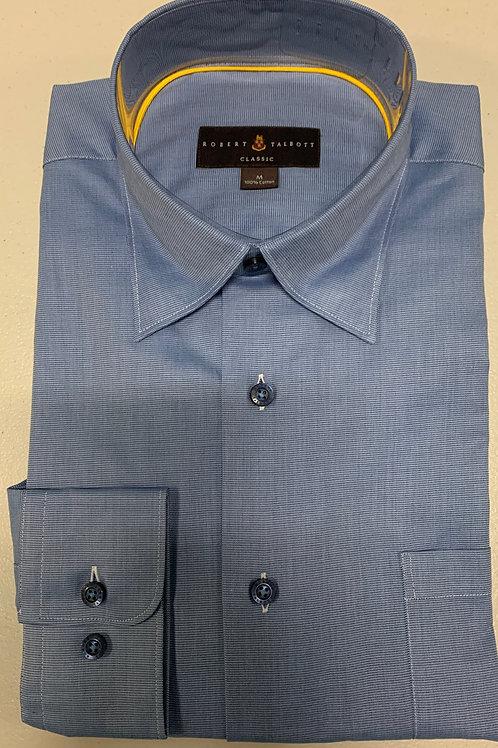 Robert Talbott- Small Horizontal Line Print Sport Shirt