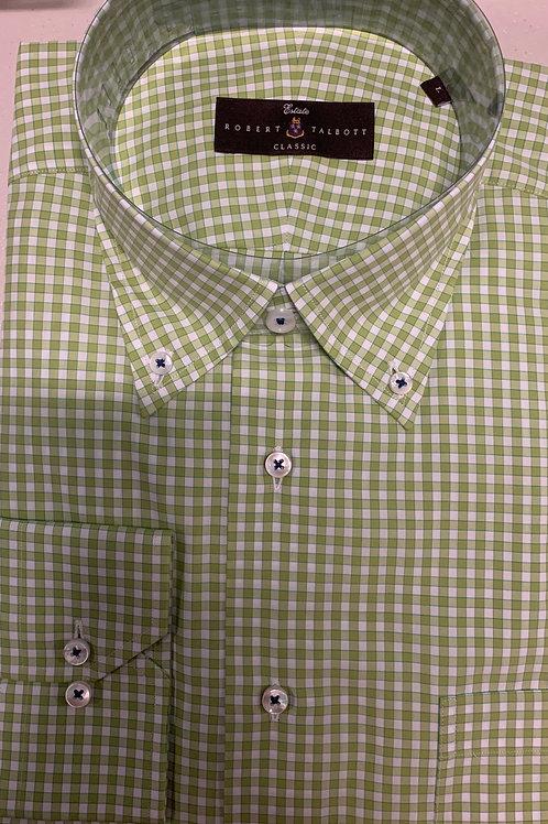 Robert Talbott- Gingham Sport Shirt