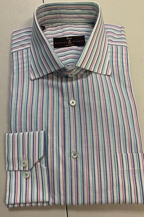 Robert Talbott- Thin Line Vertical Stripe Sport Shirt