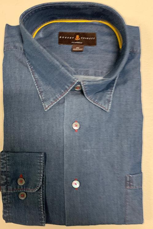 Robert Talbott- Denim Sport Shirt