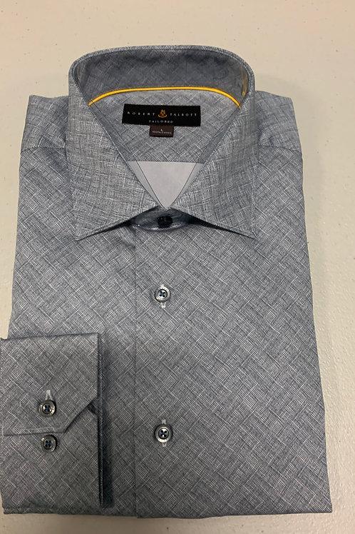 Robert Talbott- Grey Sport Shirt