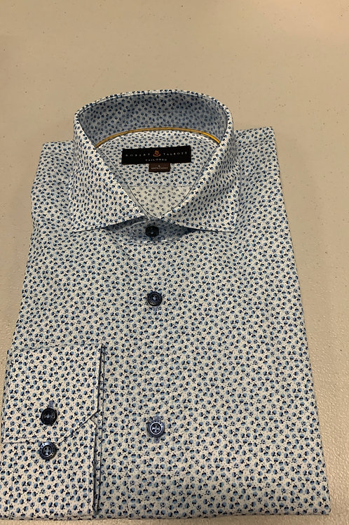 Robert Talbott- Floral Patterned Sport Shirt