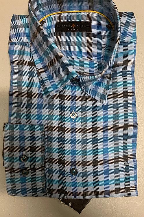 Robert Talbott- Checked Sport Shirt