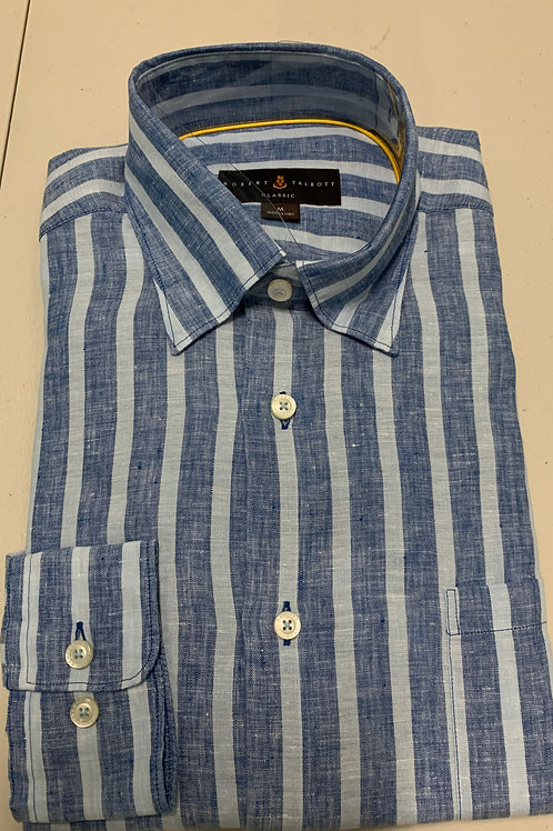 Robert Talbott- Thin Vertical Line Sport Shirt