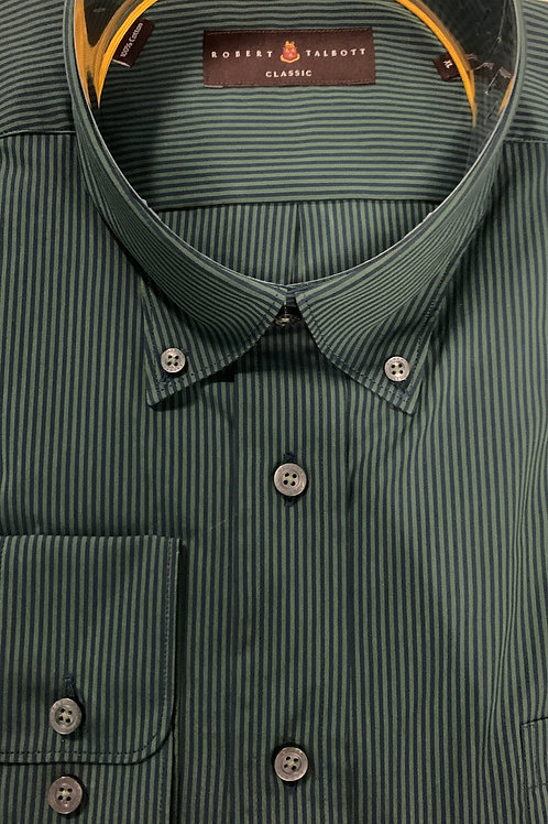 Robert Talbott- Vertical Striped Sport Shirt