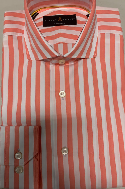 Robert Talbott- Vertical Stripe Sport Shirt