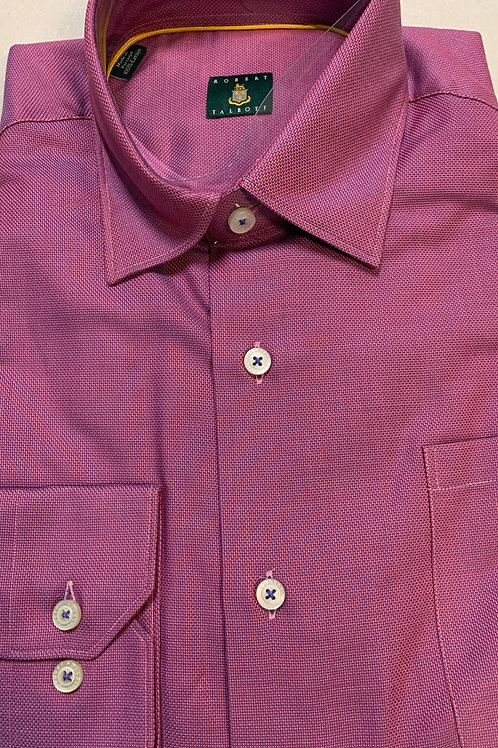 Robert Talbott- Small Printed Sport Shirt