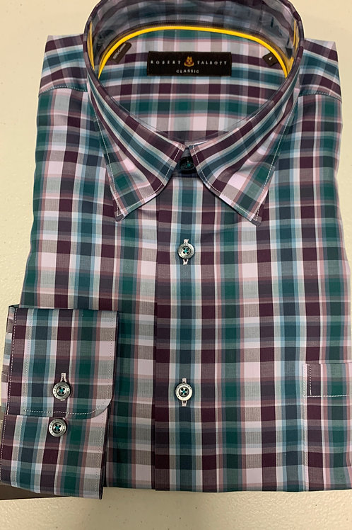 Robert Talbott- Plaid Sport Shirt