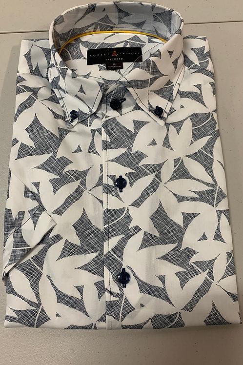 Robert Talbott- Print (Short Sleeve) Sport Shirt