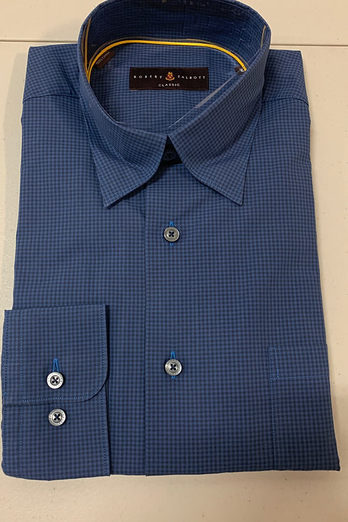 Robert Talbott- Small Checked Sport Shirt