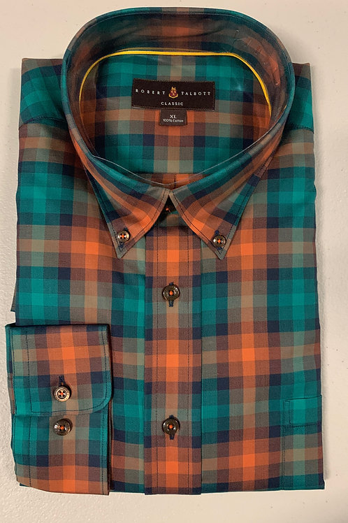 Robert Talbott- Paid Sport Shirt