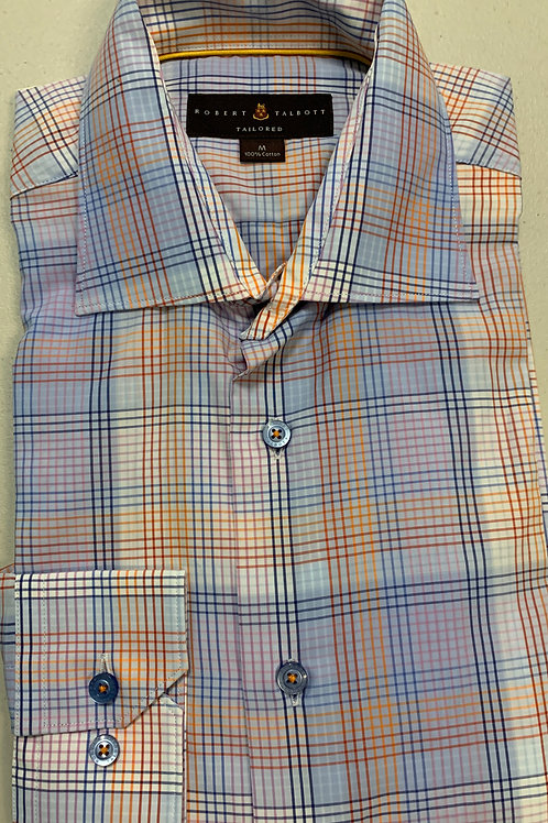 copy of Robert Talbott- Plaid Sport Shirt