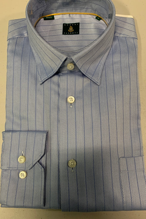 Robert Talbott- Pattern Stripe Sport Shirt