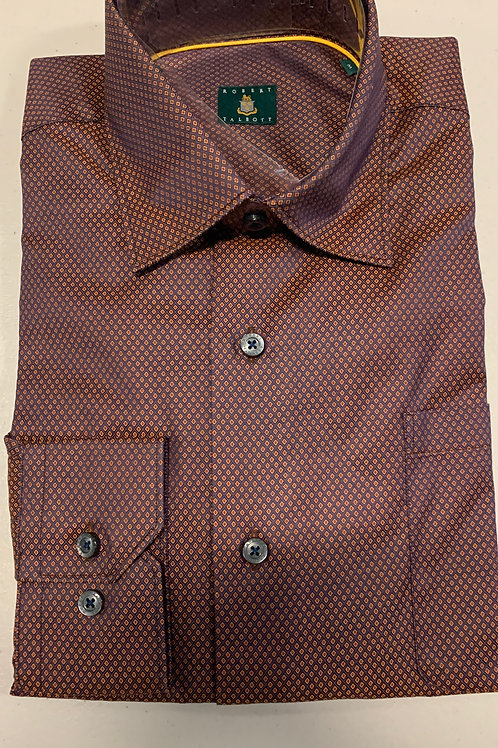 Robert Talbott- Small Pattern Sport Shirt