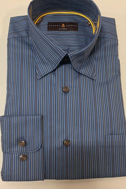 Robert Talbott- Vertical Line Sport Shirt