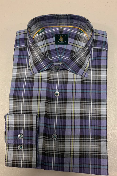 Robert Talbott- Plaid Trim Fit Sport Shirt