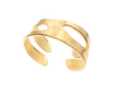 Small Vertebrae Cuff Bracelet