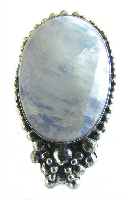Moonstone Mirror Ring