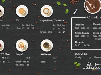 Coffee Shop menu