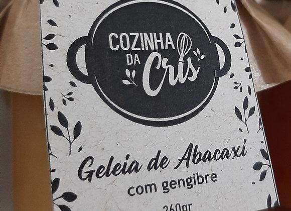 Geleia de Abacaxi com Gengibre