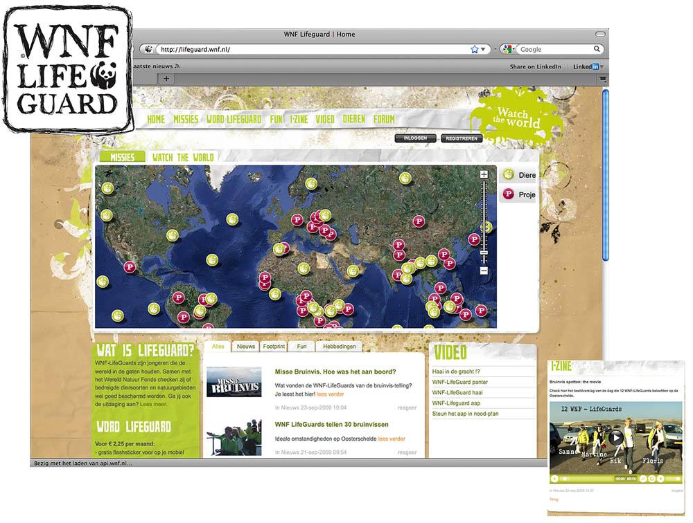 WNF Lifeguard. Nieuwe naam/ concept