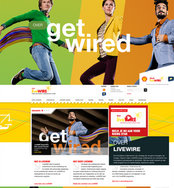 Shell livewire (ontwerp + content)