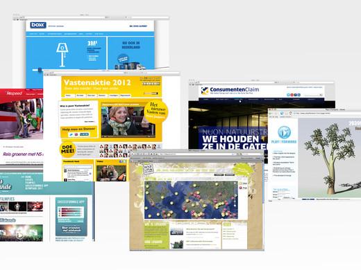 Branded websites