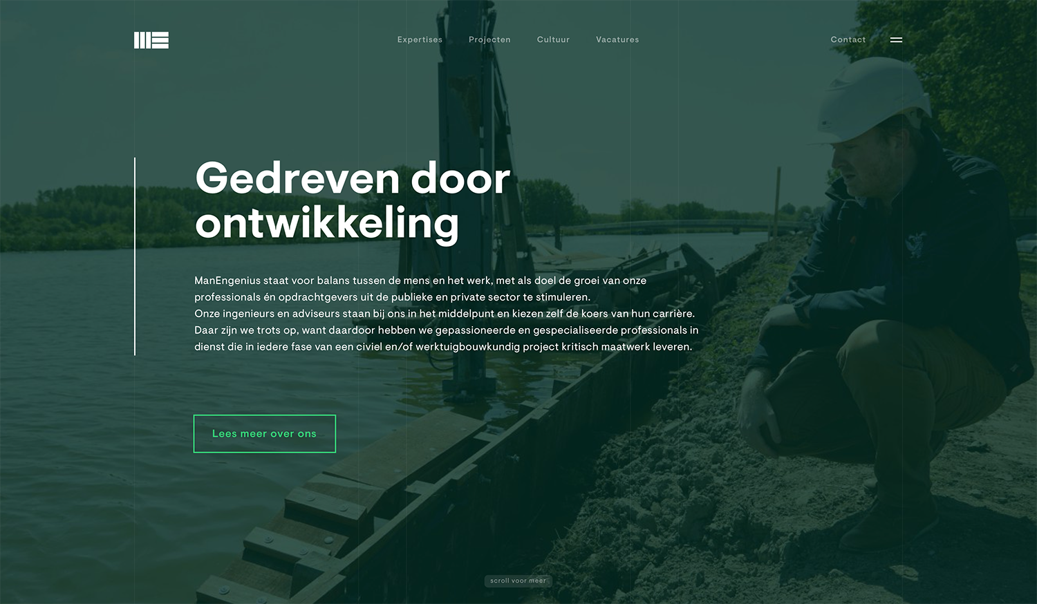 Teksten website