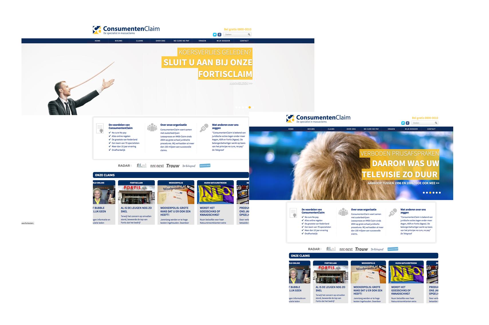 ConsumentenClaim Website