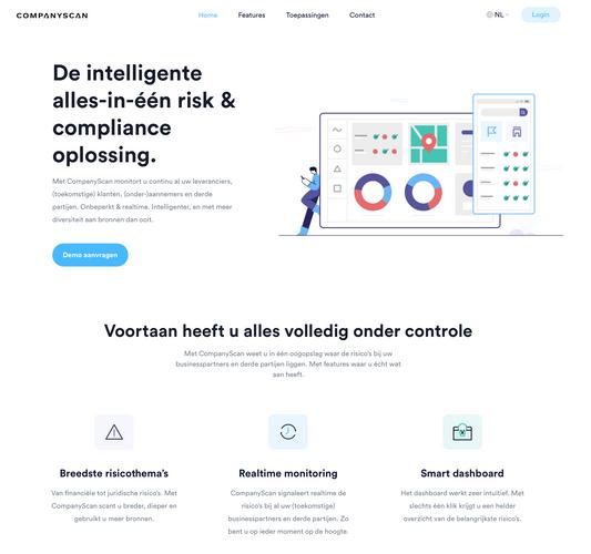Websiteteksten companyscan