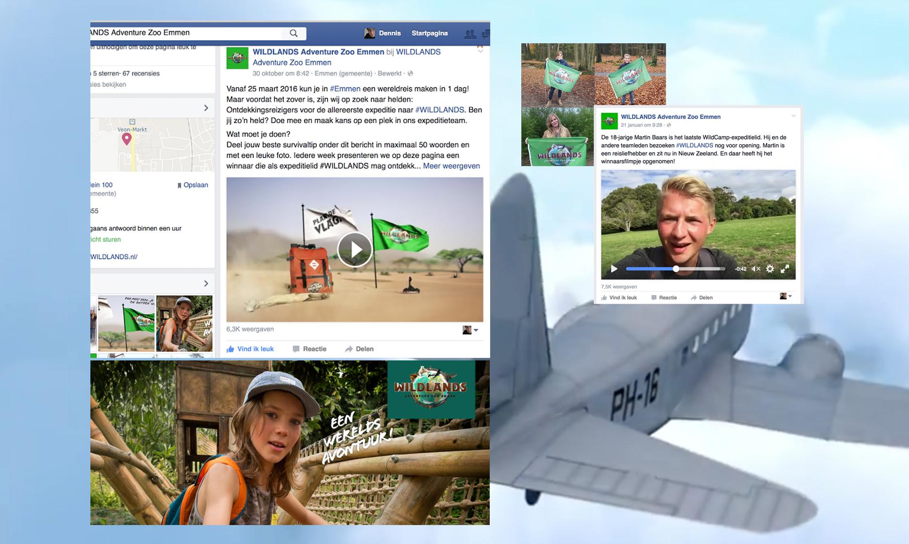 Wildlands Facebook campagne