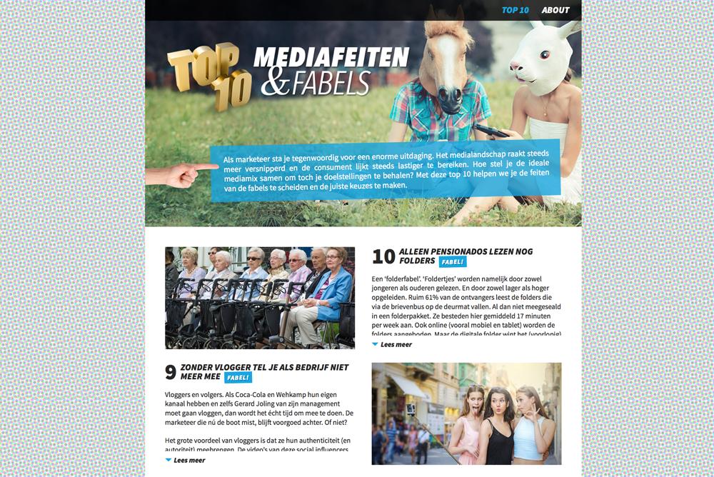 De Mediafeiten top-10 van Spotta