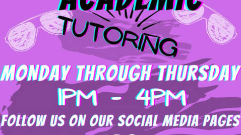 Interested in Tutoring, or Receiving Assistance with School? Check Out PAL Center's Upward Bound PRG