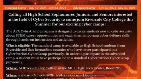 Riverside City College Cyber Defense Program Presents CyberPatriot