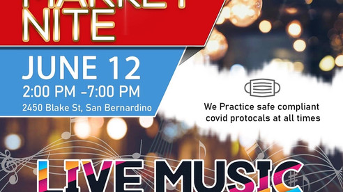 Don't Miss Out: IE Live Market Nite Event