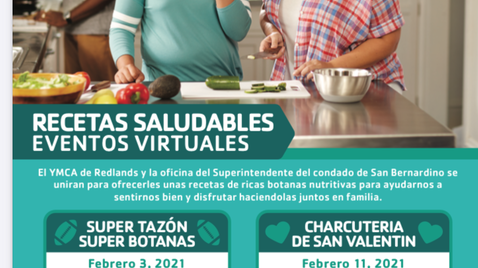 Healthy Cooking Virtual Events